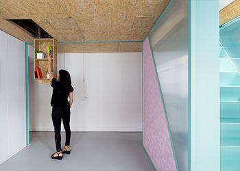 Дизайнеры создали уютный дом без мебели