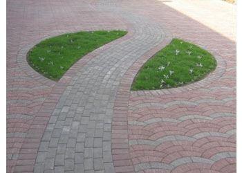 Тротуарная плитка производится по технологиям: вибролитье и вибропрессование