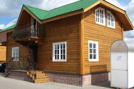 Брусовой дом - выгодная постройка