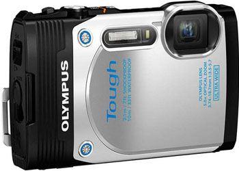 Olympus представила камеру Stylus Tough с наклонным дисплеем