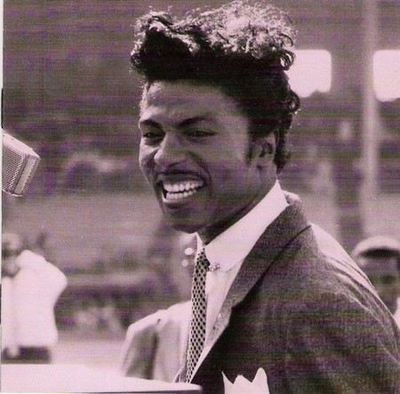 Singer Little Richard in his youth