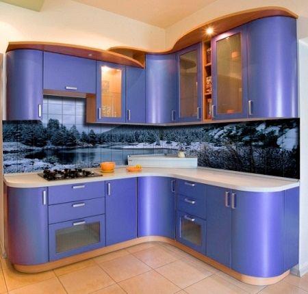 Фотоплитка в кухне
