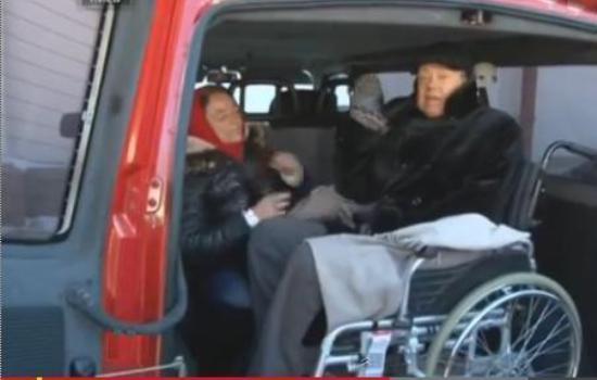 Николай Караченцов посетил баррикады в Киеве