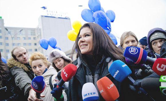 Певица Руслана рассказала о своей жизни на Евромайдане