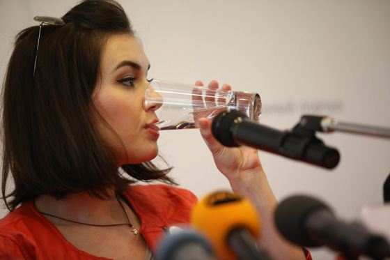 Sasha Gray answered all the questions of journalists