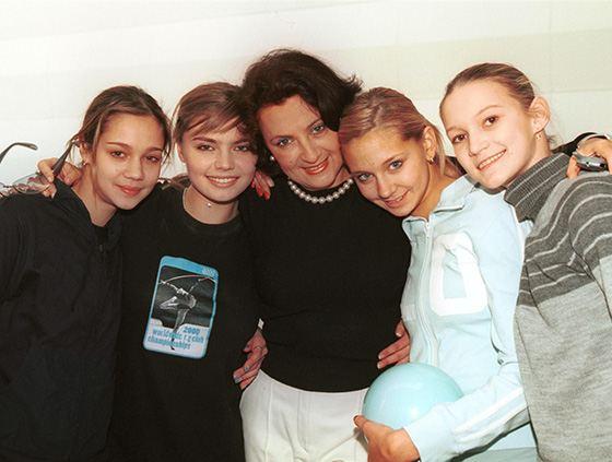 В Москве Алина Кабаева занималась у тренера Ирины Винер