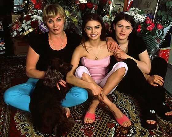 Алина Кабаева и ее семья