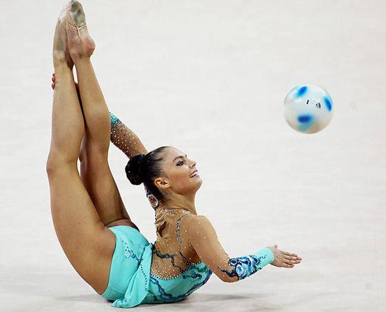 Алина Кабаева заслуженная гимнастка России