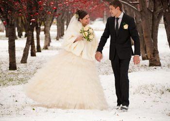 Нужно знать некоторые хитрости при организации зимней свадьбы