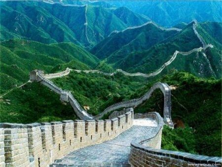 Достопримечательность КНР - Великая Китайская стена