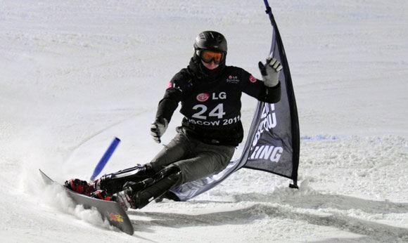 Сноубордист Алексей Соболев прошел в полуфинал олимпийских соревнований