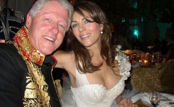 Билл Клинтон, как оказалось, встречался с Элизабет Херли