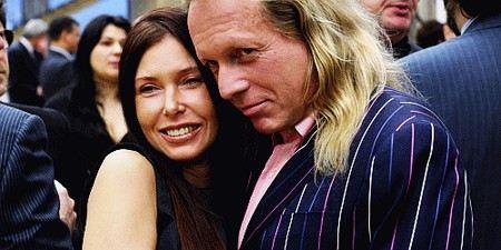 Крис Кельми с женой Людмилой