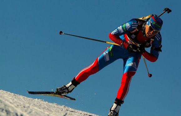Александр Логинов – один из российский биатлонистов