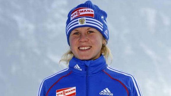 Биатлонистка Яна Романова