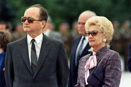 Барбара Ярузельская разгневана изменой 90-летнего мужа