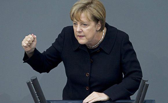Ангела Меркель раскритиковала Викторию Нуланд за слова о ЕС
