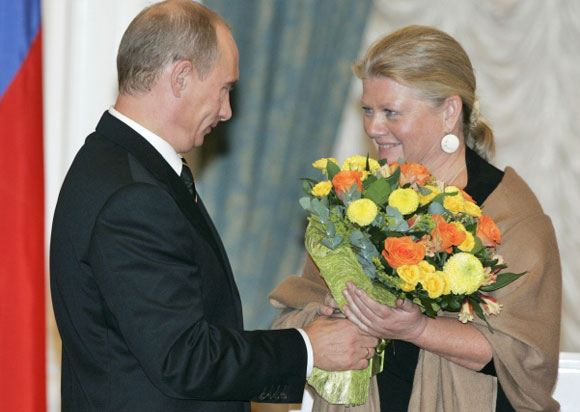 Ирина Муравьева отмечает 65-летие