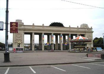 В Москве отреставрируют вход парка Горького