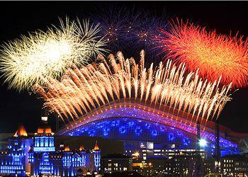 Сотни камер показали 3 миллиардам телезрителей церемонию открытия Сочи 2014