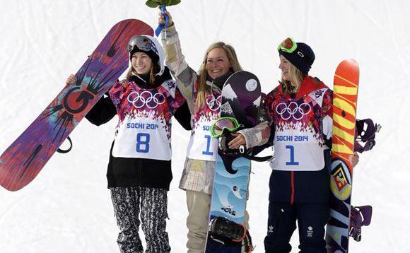 Джеми Андерсон завоевала золотую медаль в слоупстайле