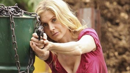 Elizabeth Mitchell - the star of the series Lost