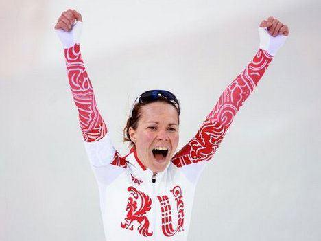 Ольга Граф стала бронзовой прирезкой в беге не коньках на дистанции 3000 метров