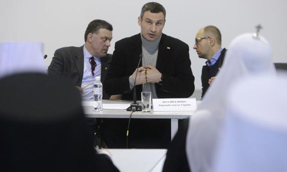 Кличко хочет встретиться с Януковичем на сцене Майдана