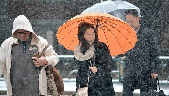 11 человек погибли из-за снегопада в Токио и его окрестностях
