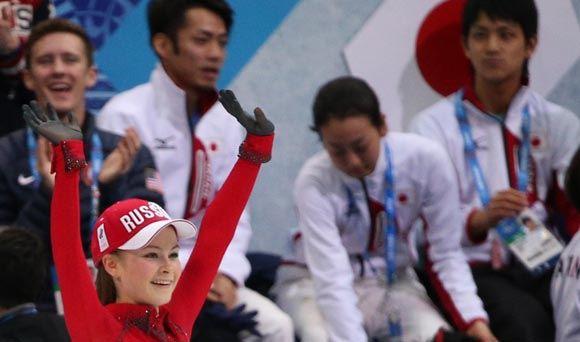 Юлия Липницкая считает, что тренироваться лучше в Москве