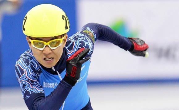 Виктор Ан завоевал «бронзу» в шорт-треке на 1500 метров