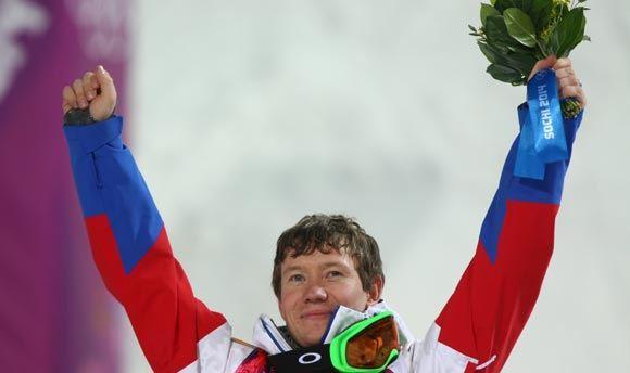 Александр Смышляев взял «бронзу» в соревнованиях по могулу
