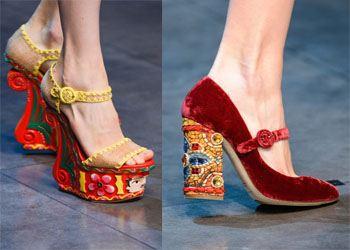 Модные тренды лета 2014: Женская обувь