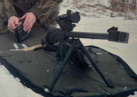 КСВК - лучшая снайперская винтовка