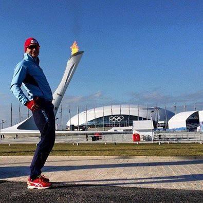 Норвежец имитирует фаллос на Олимпиаде