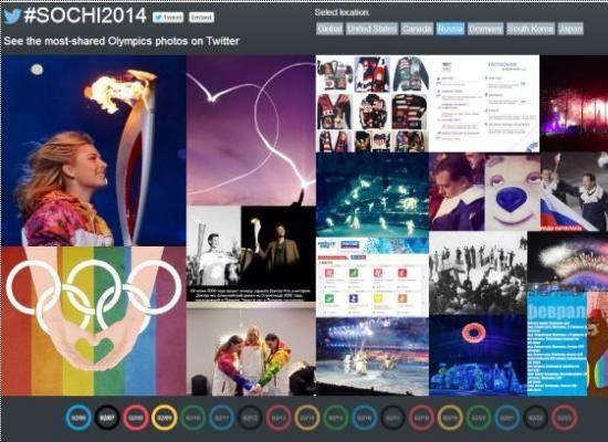 Twitter запустил спецпроект с лучшими олимпийскими фотографиями