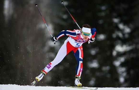 Норвежки завоевали «золото» и «серебро» в спринте вольным стилем