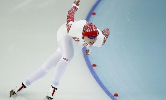 Ольга Фаткулина завоевала второе место на дистанции в 500 метров