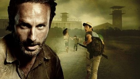 Andrew Lincoln in the sitcom The Walking Dead