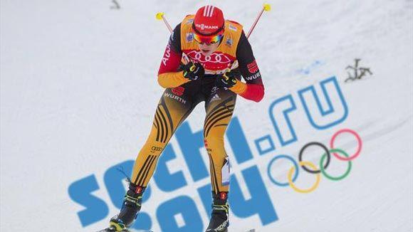 Немецкий лыжник Эрик Френцель победил в двоеборье