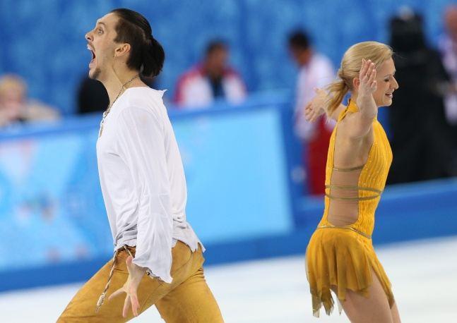 Татьяна Волосожар и Максим Траньков стали чемпионами в соревновании спортивных пар
