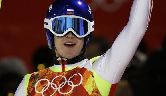 Прыгун на лыжах Михаил Максимочкин повредил ребро, упав с трамплина