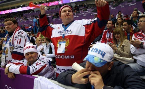 Российская сборная по хоккею обыграла Словению на ОИ