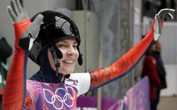 Российская скелетонистка Елена Никитина завоевала бронзовую медаль