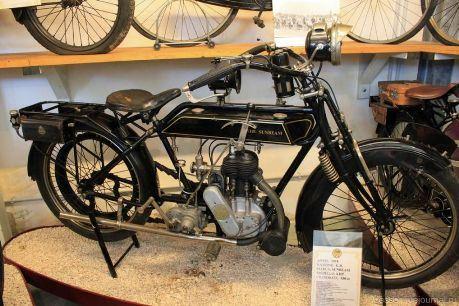 В музее мотоциклов в Римини представлено 180 мотоциклов разных времен