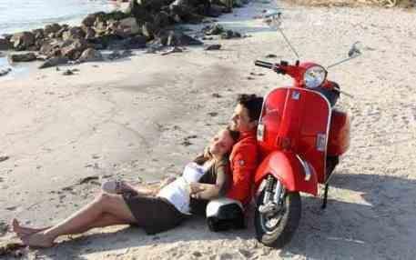 Скутер - транспорт для романтиков