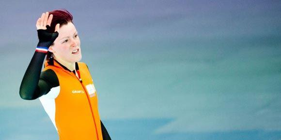 Спортсменки из Нидерландов заняли три призовых места по итогам забега на коньках на 1,5 километра