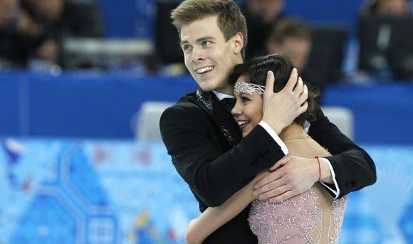 Елена Ильиных и Никита Кацалапов заняли третье место по итогам короткой программы