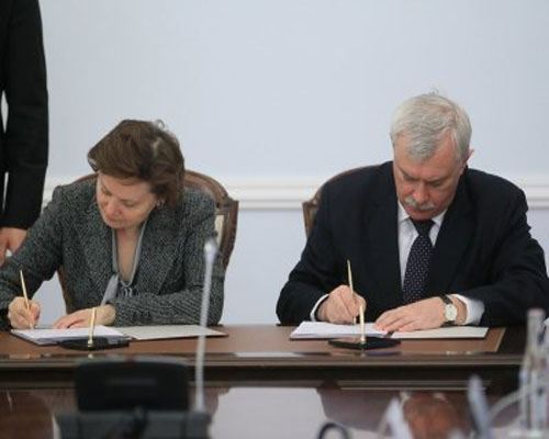 Petersburg strengthens cooperation with KhMAO