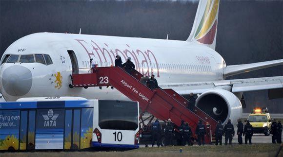 В Женеве задержали угонщика самолета